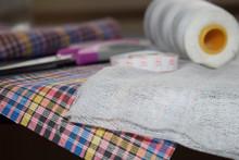 Necessary Materials For Creating A Mask: Gauze, Fabric, Thread, Needle, Scissors, Elastic. Centimeter.