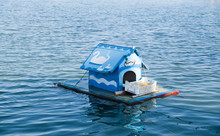 Floating House With Food For S...