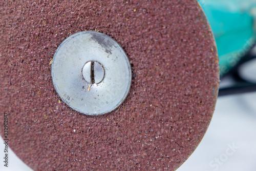 sandpaper discs for italian drill bologna italy Wallpaper Mural
