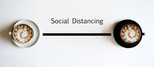 Social Distancing Concept With...