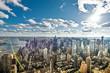 NYC aerial skyline