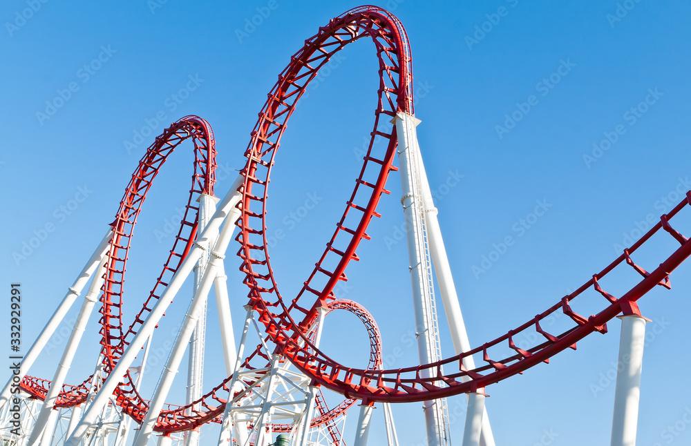 Fototapeta Roller Coaster