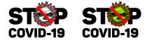STOP Coronavirus COVID-19. Vir...