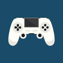 Game Controller Icon Vector Logo Template