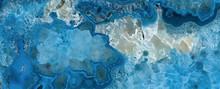 Blue Aqua Marble Rock Texture ...