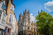 The Old Cathedral In Canterbury