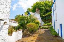 Clovelly, Small Village In Devon