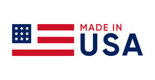 Made In Usa Sign Vector Design