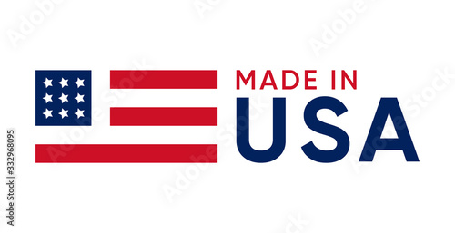 made in usa sign vector design Tableau sur Toile