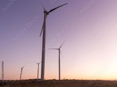 Obraz na plátně Turbinas Eólicas