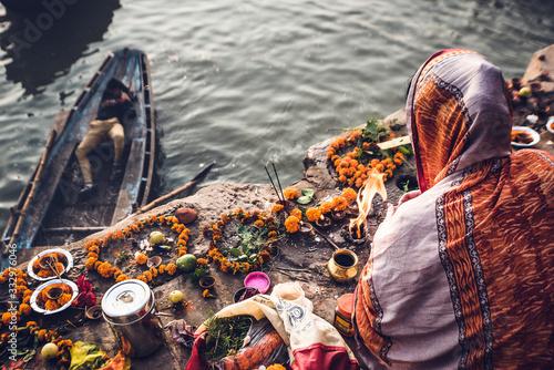 Fototapeta India, tra cultura, spiritualità, vita e morte