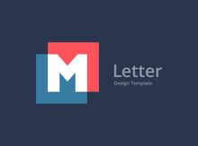 Letter M Logo Icon Design Temp...