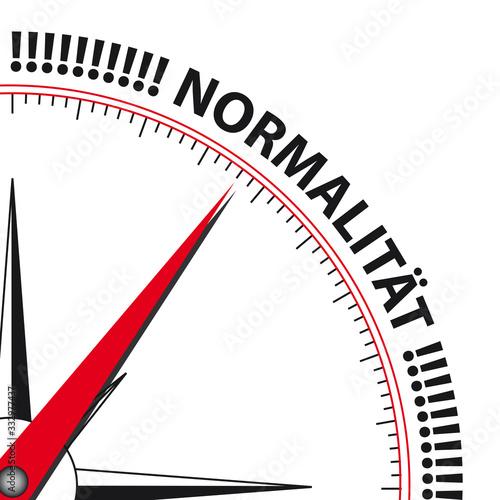 Foto Kompass Normalität