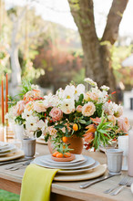 Summertime Wedding Reception