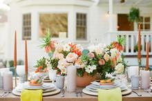 Summertime Wedding Reception