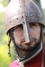 Portrait Of A Helmet