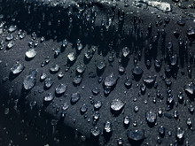 Rain Drops On Nylon