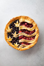 American Flag Cannabis Pie