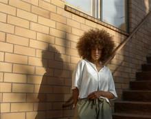 Woman In Golden Light