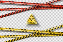 Vector Biohazard Danger Yellow...