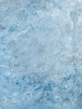 Blue Textured Hand Painted Background