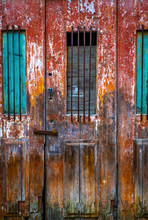 Colorful Old Door