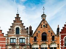 Flamencas Huizen In Bruges, Be...