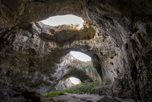 Devetashka Cave Triple Hole In...