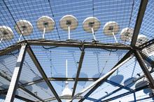 Details Of A D-VOR (VHF Omnidirectional Radio Range) Ground Station Of Radio Navigation System For Aircraft.