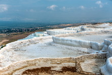 Pamukkale Travertine Pool In Turkey