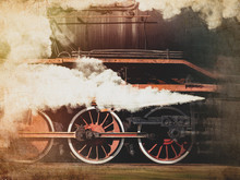 Vintage Trains With A Steam On...