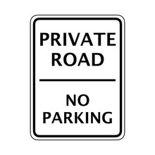 Prohibitive Sign For No Parking Or Stopping
