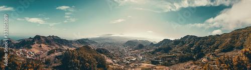 Fototapeta panorama   panoram-vom-el-teide