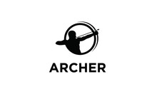 Symbol Archer Vector Logo Design Inspirations