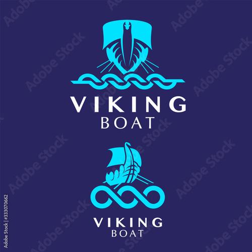 Photo VikingBoat logo set