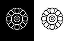 Flower Icon Set Vector Design ...