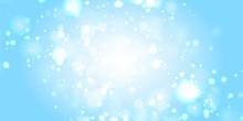 背景素材:玉ボケ 海 水 背景 ゴージャス 青色 クリスマス 雪 冬 水しぶき 波 キラキラ