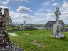 View Of Cemetery At The Clonma...