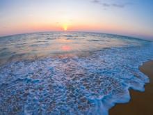 Beautiful Sunset At Sai Keaw Beach-Phuket
