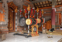 Musical Instruments In A Hindu...