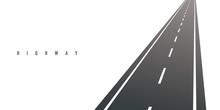 Highway Vector Illustration