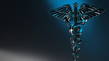 Caduceus - Medical Symbol, 3d ...