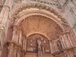 Architectural detail of doorway at Palma cathedral Majorca