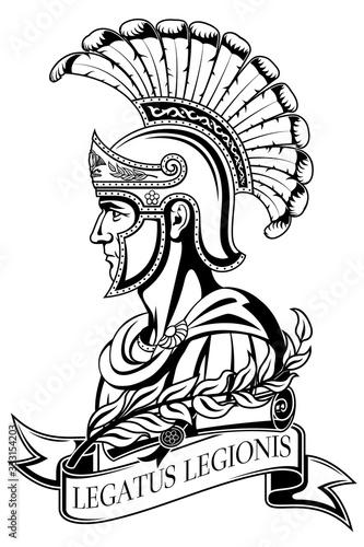 Fotografija Ancient Roman warrior. Legatus legionis (Legion Legate).
