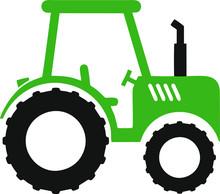 FARM TRACTOR SVG, Tractor Clipart, Tractor Cut File, Tractor Silhouette, Tractor Vector, Tractor Birthday Svg, Farming Svg, Construction Svg