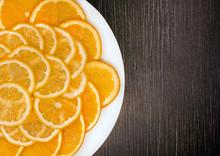 Sliced orange And Lemon ...