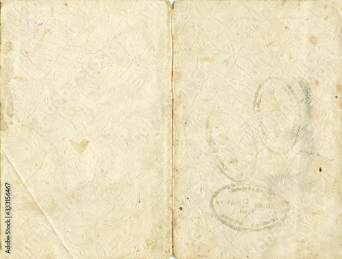 textura de papel fotográfico desgastado, sucio y antiguo Wallpaper Mural