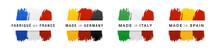 Set De Quatre Logo Pour Vos Pr...
