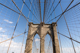 Fototapeta Nowy Jork - brookłyn bridge
