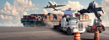Logistic And Transport Concept...